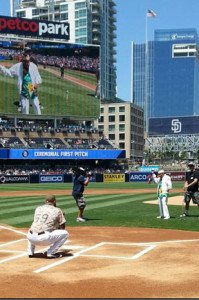 103 year-old vet hurls opening pitch