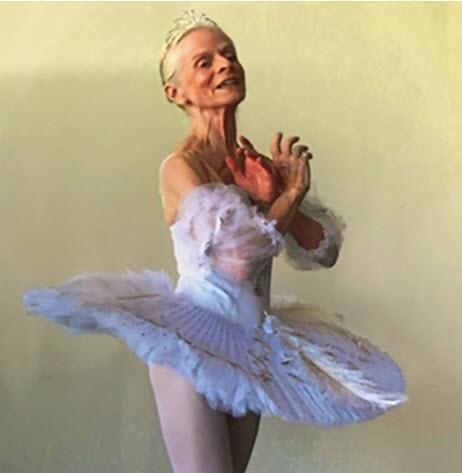 77 year-old Ballerina
