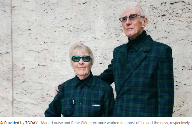 86-year-old grandparents got a gig!